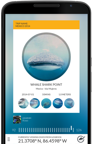 Diveboard android app